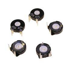 5 Trimmer Poti Piher PT15LV 500Ohm Trimmpoti PT15 LV liegend 500R 004586