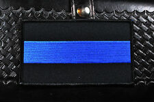 "Thin Blue Line  3"" x 5"" Patch, Law Enforcement"