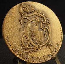 Médaille Dardiliacum Animaux fantastiques animal par Rebatet ed FIA Medal 铜牌