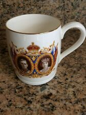 Antique English China Cup Commemorating Coronation of King George