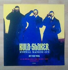 "KULA SHAKER Promotional 12"" x 12"" Card (Flat) MYSTICAL MACHINE GUN (double sided"