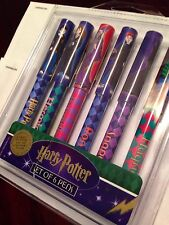 NIB Harry Potter Lot 6 Gift Pen Orgnl  Warner Brothers Studio Movies Collectable