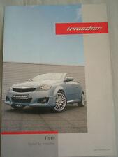Vauxhall Tigra Opel Line Irmscher tuning brochure Apr 2006