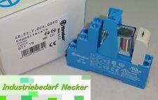 10 STÜCK - 48.52.7.024.0050 - Finder Koppel Relais 24V DC 2 Wechsler 8A