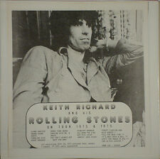 KEITH RICHARD and His The Rolling Stones - '73 & '75 Live 2 LPS