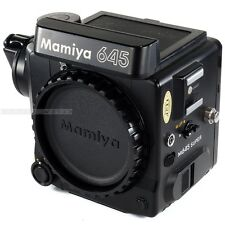 Used Mamiya M645 SUPER Body Medium Format 6x4.5 + Crank + Split Image Screen
