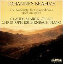 BRAHMS: THE SONATAS FOR CELLO & PIANO OP. 38 & OP. 99 NEW CD