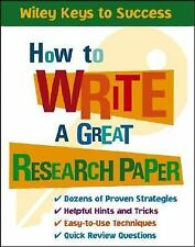 How to Write a Great Research Paper by Beverly Chin, Book Builders and Inc. Staf