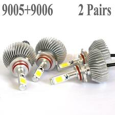 120W 12000LM 9005 9006 LED Headlight Kit Low Beam Light Bulb 6000K White 2 Pairs