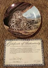 THE SNOW LEOPARD plate - WILL NELSON
