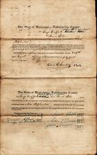 TALLAHATCHIE COUNTY MISSISSIPPI Probate Document - 1844 - #2