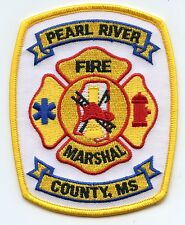 PEARL RIVER COUNTY MISSISSIPPI MS Fire Marshal FIRE PATCH