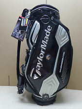 New TaylorMade JDM CBZ76 Cart Caddy Staff Golf Bag,  Black/Silver