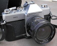 MAMIYA SEKOR 500 TL + SOLIGOR 28 mm f 2.8