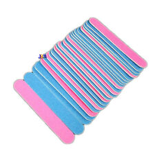 10x Professional Mini 5cm Nail File Sand Emery Board  Pedicure Manicure