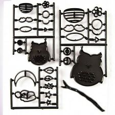 Patchwork Cutters OWL SET Bird Cake Decorating Sugarcraft Cutting Tool