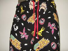 Mens Med 32-34 Real Monsters Ickis Oblina Krumm Cartoon Pajamas Lounge Pants Pjs