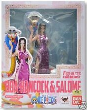 Used Bandai Figuarts Zero One Piece Boa Hancock & Sarome Pre -Painted