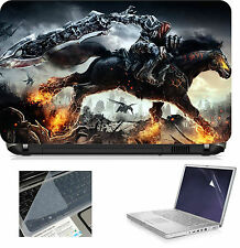 """Laptop Accessories Combo 08662 with Scren & Key Guard - High Quality 15.6"""" inche"""