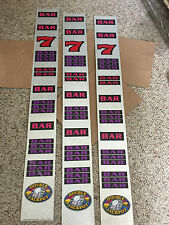 IGT Used S-Plus slot machine DOUBLE JACKPOT DIAMOND  REEL STRIPS