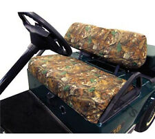 Club Car Precedent Golf Cart Camo Seat Cover, Slip-on Camouflage Seat Cover Set