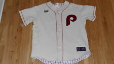 MAJESTIC PHILADELPHIA PHILLES COOPERSTOWN COLLECTION REVERSIBLE TEAM JERSEY XXL