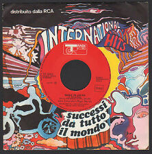 "7"" JOHN ENTWISTLE'S RIGOR MORTIS MADE IN JAPAN / HOUND DOG WHO ITALY ONLY PROMO"