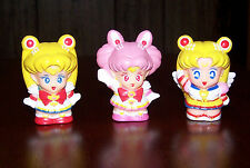 SAILOR MOON FINGER PUPPET LOT Figure TOY Gachapon CHIBI SuperS STARS Eternal