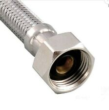 "Sink Faucet Water Supply Connector Hoses 23 1/2 "" x 1/2"" FIP"
