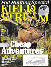 SHIPPED IN A BOX -  Field & Stream Magazine October  2010