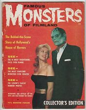 FAMOUS MONSTERS of FILMLAND #1,1958,ONE OWNER COLLECTION,UNRESTORED!