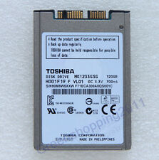 Toshiba 1.8' MK1233GSG HDD 120GB FOR HP EliteBook Thinkpad X300 Sony VAIO Dell