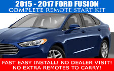 2015 2016 2017 FORD FUSION REMOTE START CAR STARTER PLUG AND PLAY - FAST INSTALL