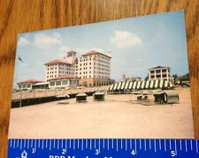 Vintage Post Card The Flanders Hotel Ocean City New Jersey 4 didge Phone # Old