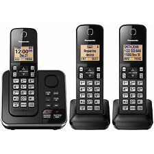 Brand New Panasonic DECT 6.0 3 Handset Digital Cordless Phone Answering System