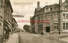 PRINTED POSTCARD OF SHERBORNE ROAD, YEOVIL, (NEAR CREWKERNE) SOMERSET, VALENTINE