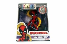"4"" Jada Die Cast Metals Marvel Girls Lady Deadpool New Release IN STOCK"