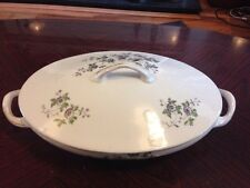 Fabulous Antique Victoria China Covered Tureen -Violets - Shabby Chic