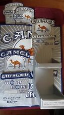LOT OF 5 ITEMS CAMEL CIGARETTES ULTRA LIGHTS DISPLAY POSTER SIGN PRICE CARDS