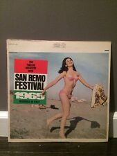 Various ‎– San Remo Festival 1965: The Twelve Greatest Hits 1965 LP, Epic