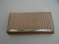 GUESS Womens Nude Kingville Slg Bifold Wallet Free Shipping SALE CR648053
