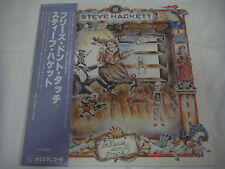 STEVE HACKETT-Please Don't Touch JAPAN 1st.Press w/OBI Genesis Pink Floyd Kansas