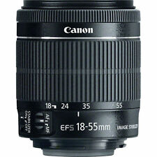 New Canon EF-S 18-55mm F/3.5-5.6 STM IS Lens f/ Rebel T5i T6i T6s T5 white Box