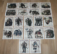 Risen 2 Dark Waters Collectors Edition The Art Of Artwork Cards PS3 Xbox 360