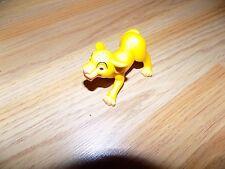 Disney The Lion King Simba PVC Figure Toy McDonald's #9 2005 Cake Topper EUC