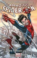 The AMAZING SPIDER-MAN The Parker Luck by Dan Slott (2014, Paperback) NEW