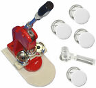 "3""(75mm) Button/Badge Maker Press, Button Machine+Circle Cutter+Free 100 Buttons"