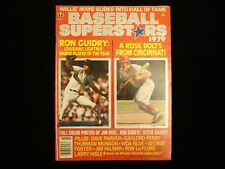 1979 Baseball Superstars Magazine - Ron Guidry & Pete Rose Cover