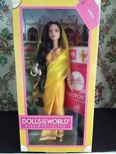 Barbie Dolls Of The World India NRFB 2011