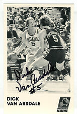 Autographed Signed Dick Van Arsdale 5x8 Photo jhaut